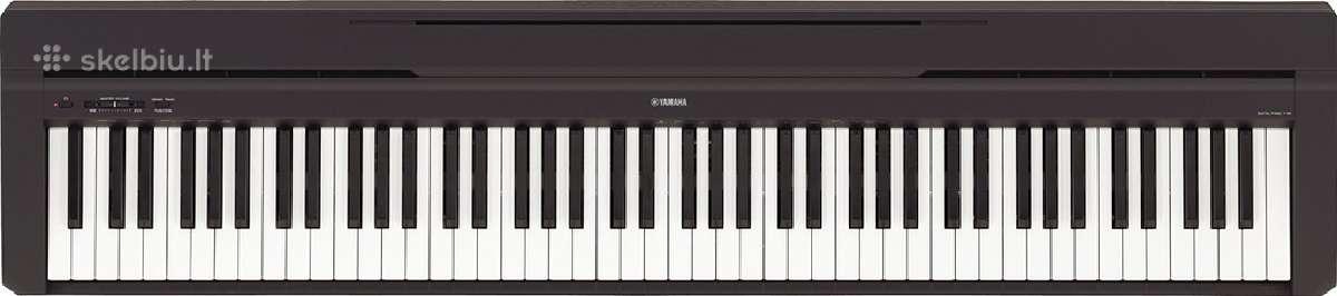 Skaitmeninis Pianinas Yamaha P45 Geriausia kaina