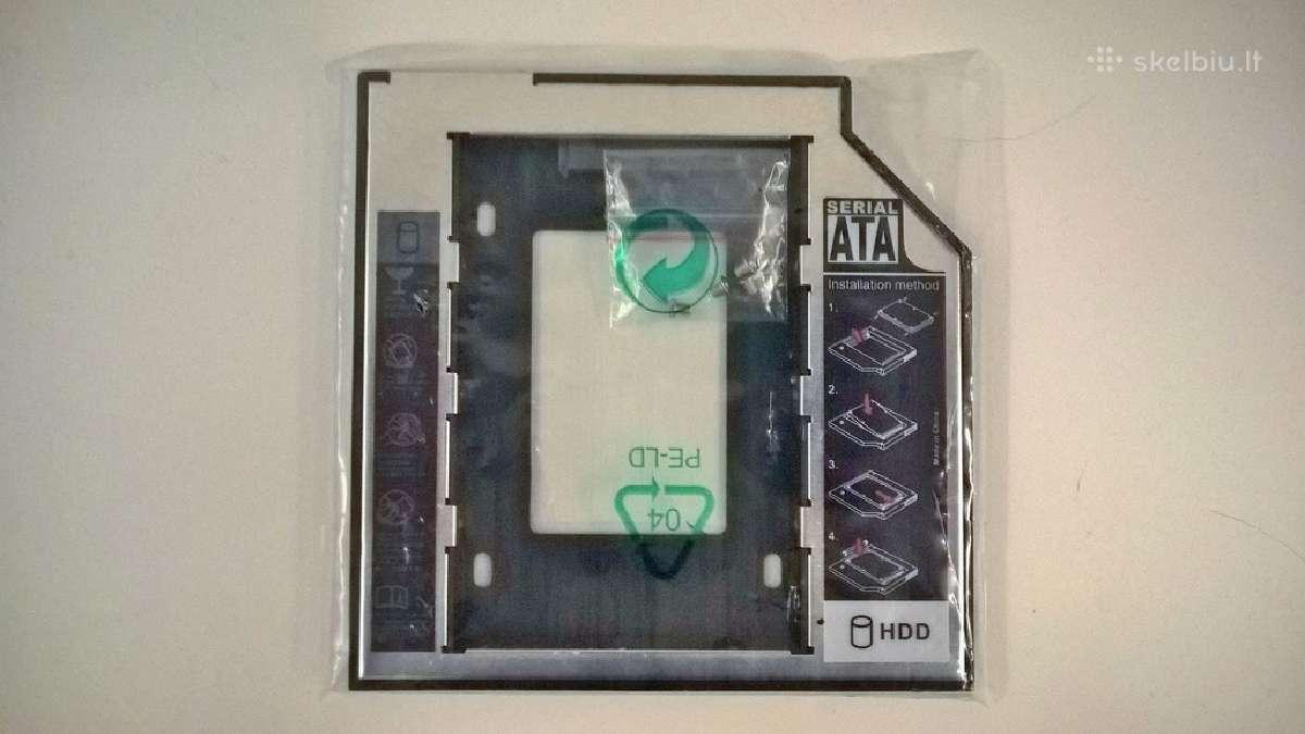 Dvd HDD SSD universalus adapteris 9.5mm [Naujas]