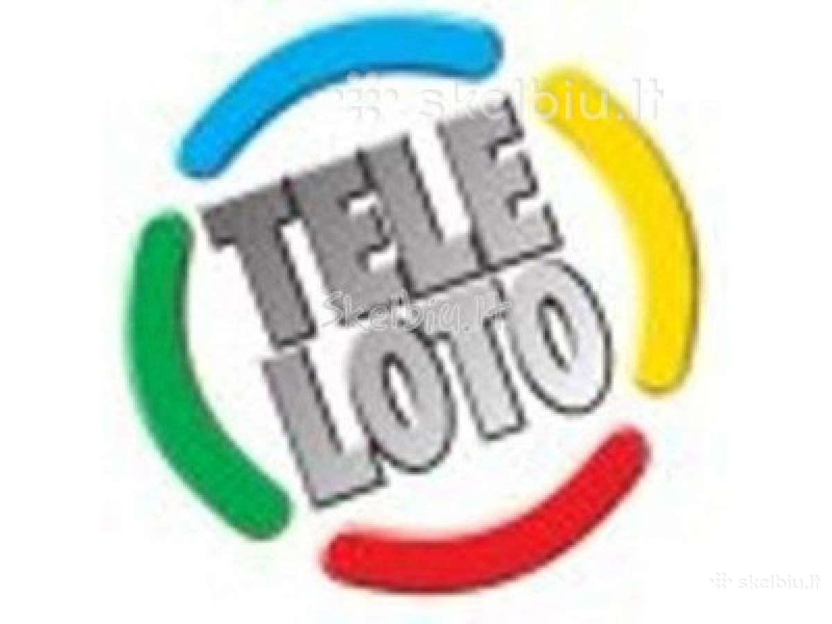 Pirksiu laiminga Teleloto bilieta kaina sutartynė