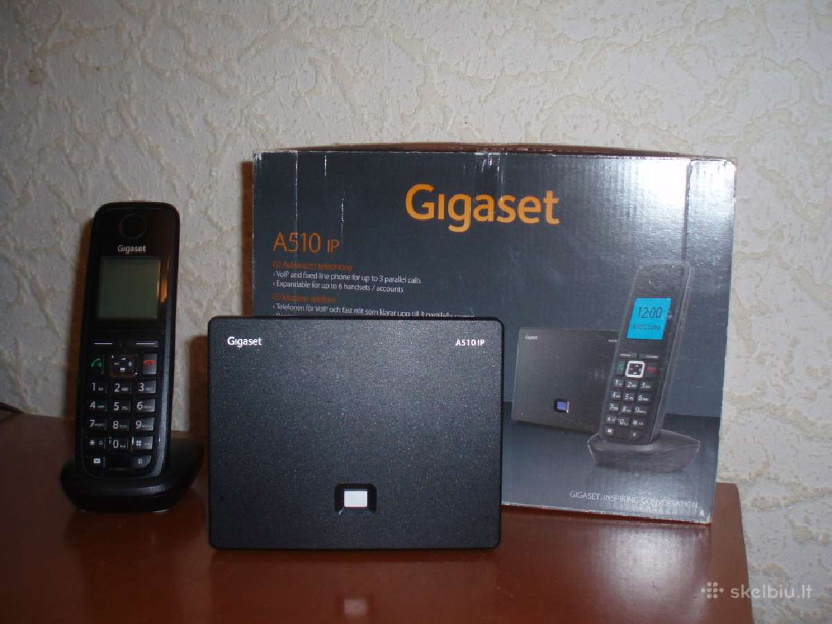 Manuale gigaset a510 ip