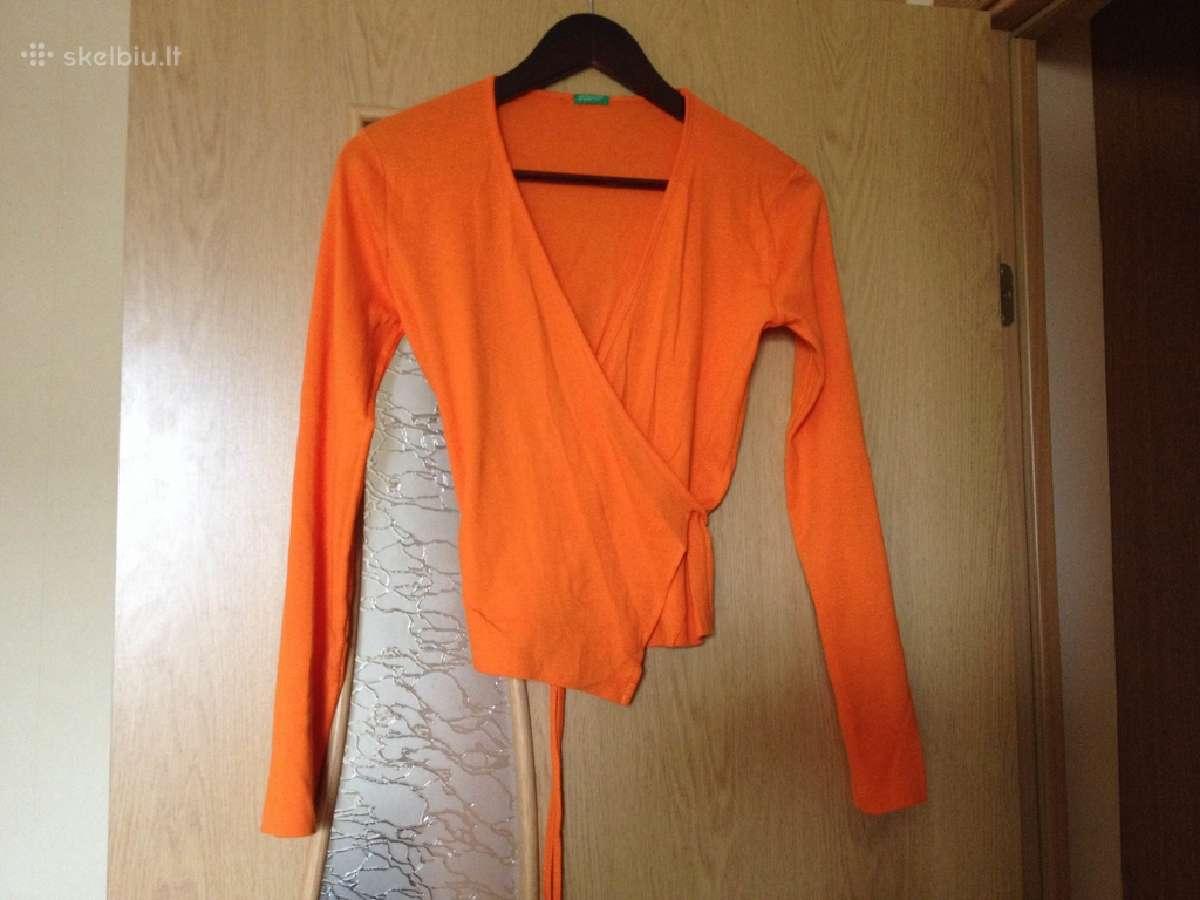 Palaidinukė - megztukas (oranžinis)