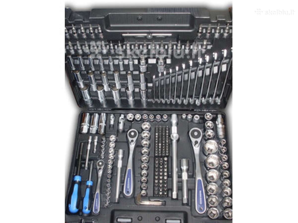Įrankių komplektas galvučių raktų rinkinys