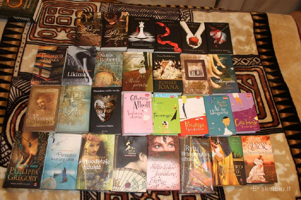 Detekty,meile,romanai,nuotyk,triler daug knygu cia
