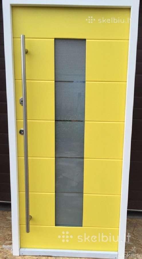 Metalinės, seifinės, plastikinės lauko durys