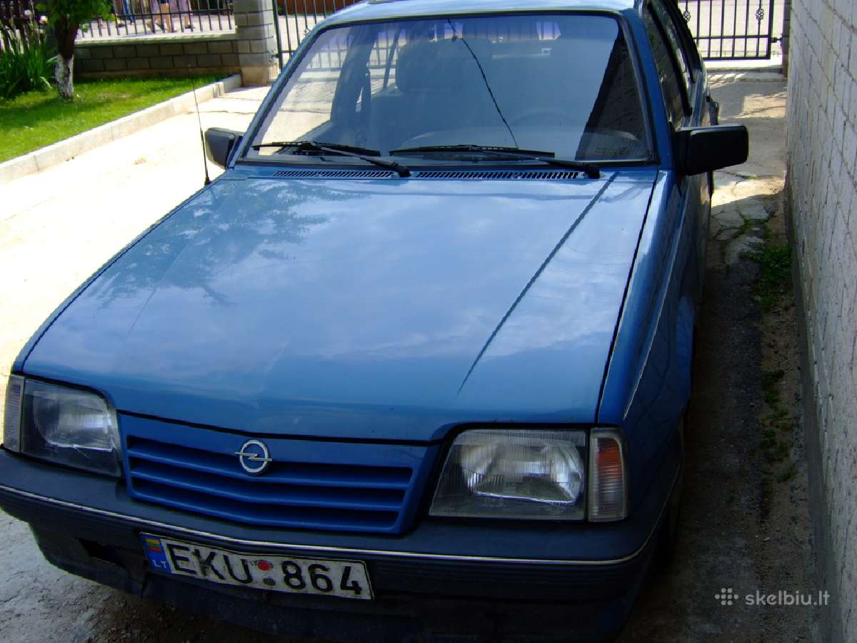 Opel Ascona Dalimis