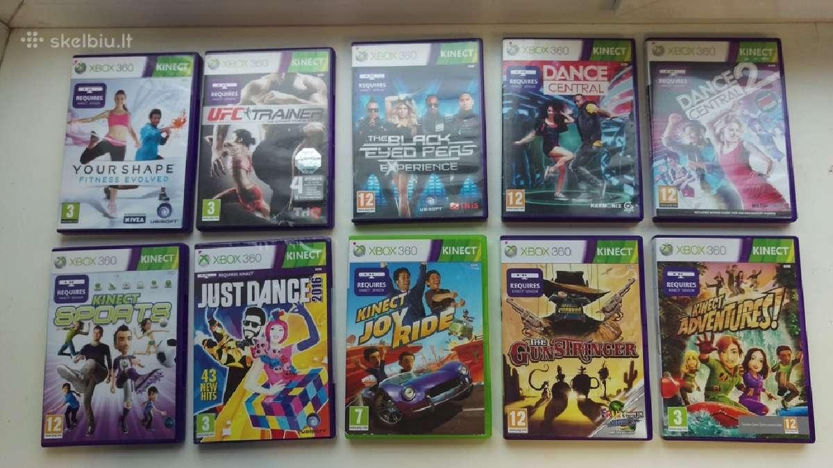 Xbox 360 nuotaikingi ir smagūs Kinect žaidimai!