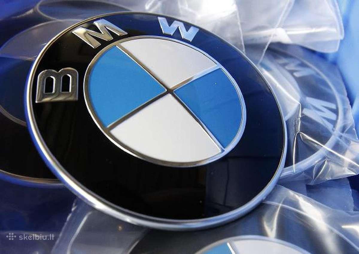 Bmw zenkliukas, emblema ant kapoto ar bagazines
