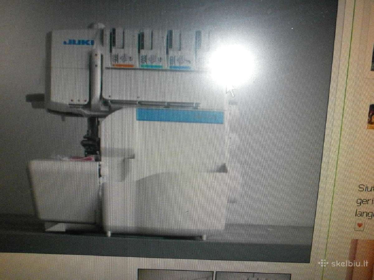 Overlokai Juki Mo-735 su garantija 24 mėn 690 Eur