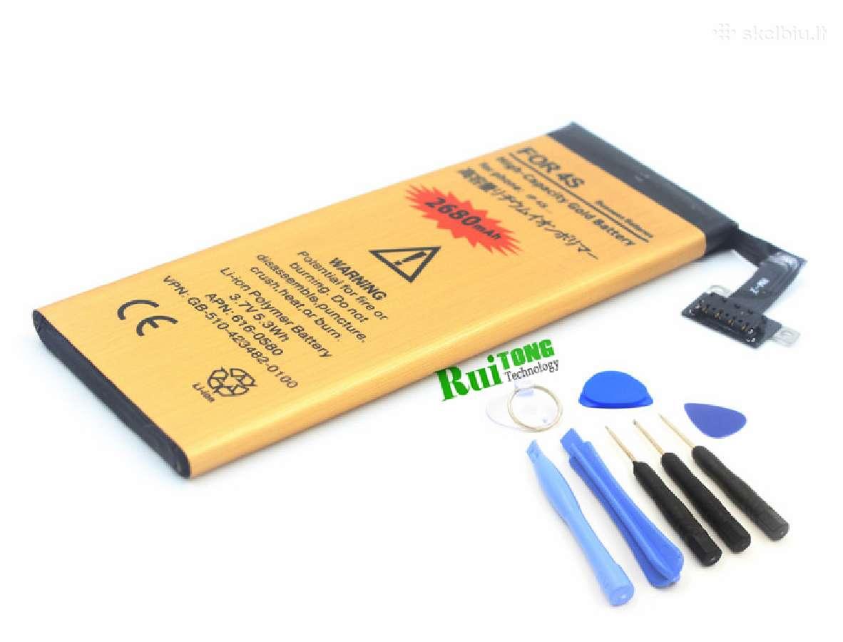 iPhone padidintos talpos baterijos