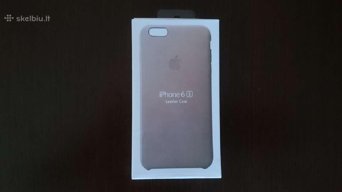 iPhone 6s dėklas odinis.