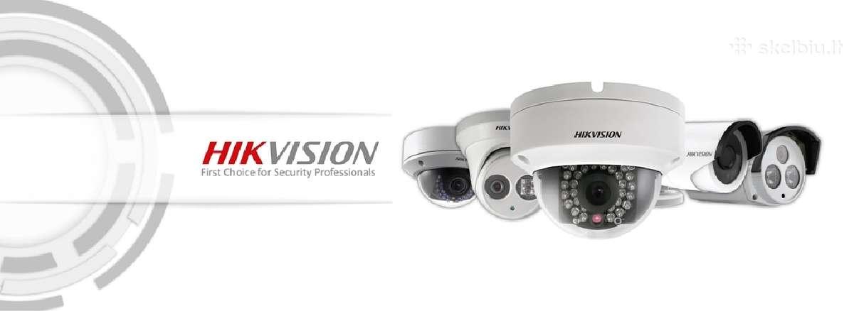 Ip vaizdo apsaugos kameros stebėjimui internetu