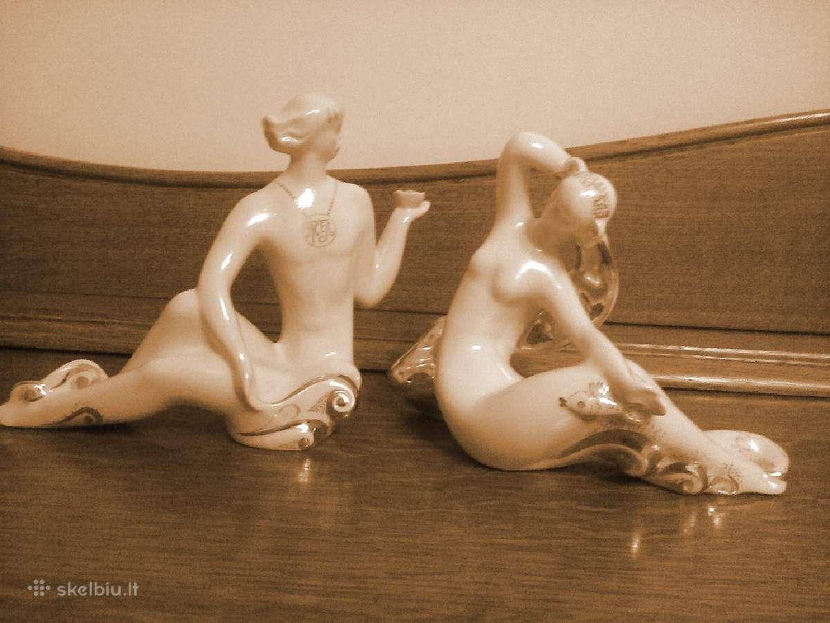 Statulėlė kompozicija porcelianas