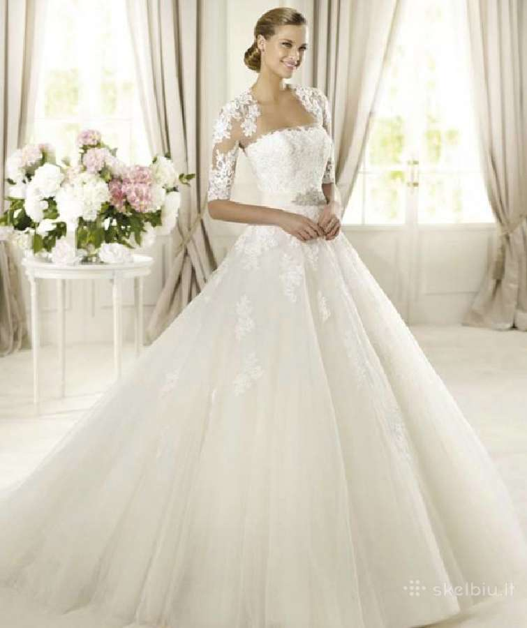 Parduodu Pronovias Barcelona vestuvinę suknelę.