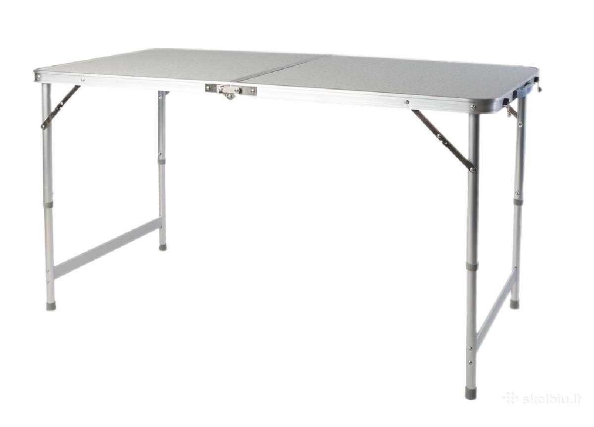 Prekybinis stalas prekystalis sulankstomas stalas