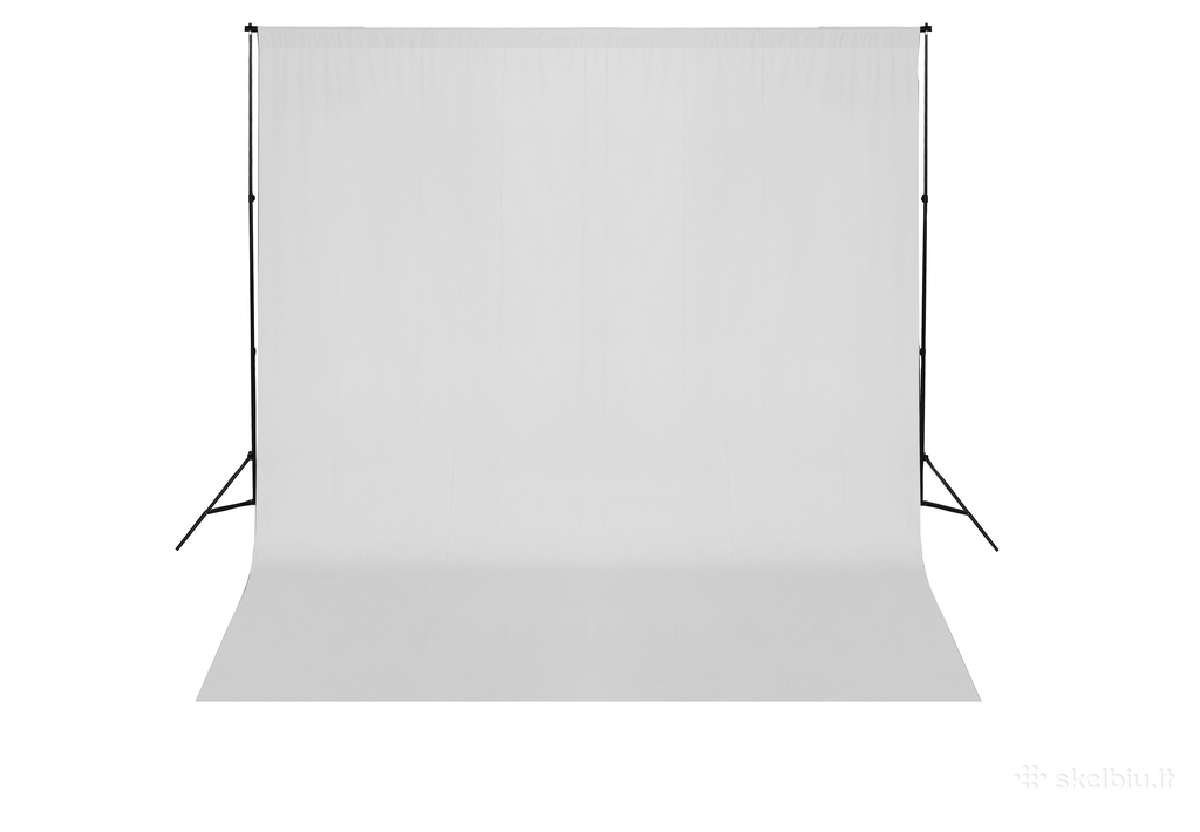 Fono Tvirtinimo Sistema su Baltu Fonu 600 x 300 cm