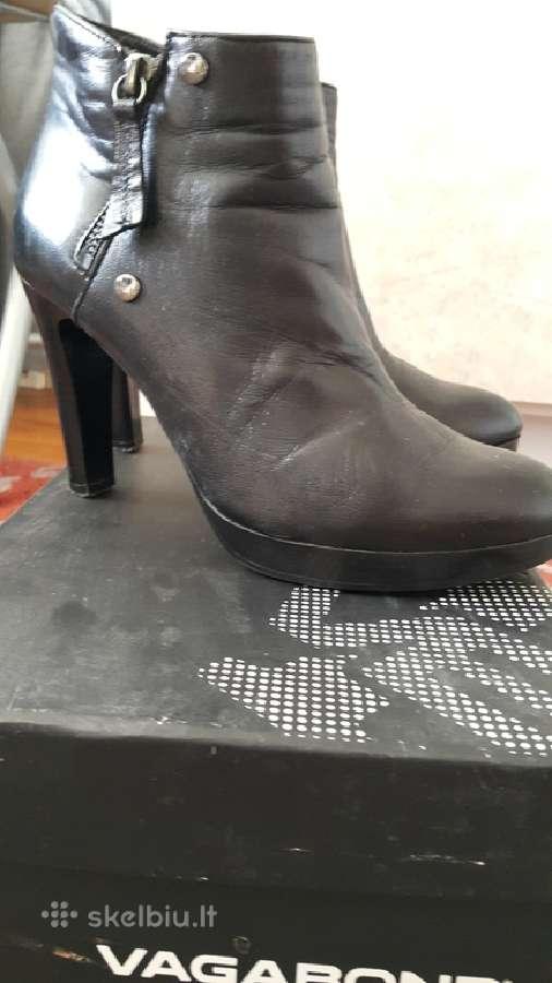 """Aukštakulniai batai natūralios odos """"Vagabond"""""""