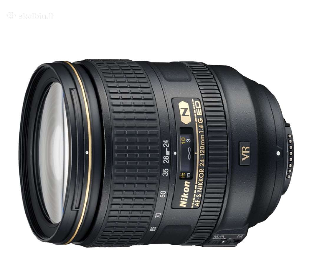 Nikon Af-s Nikkor Vr objektyvas naujas