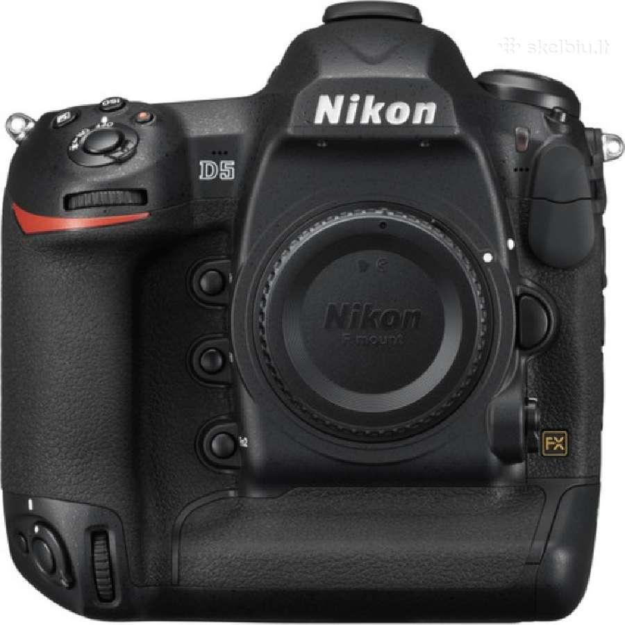 Naujas Nikon d5 body