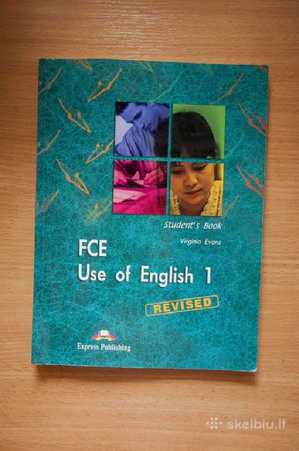 Fce Use of English anglų k. vadovėlis