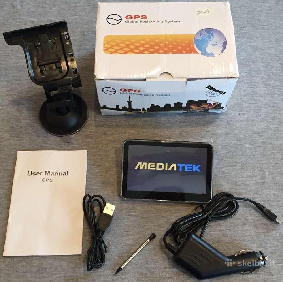 Mediatek 4.3 coliu GPS navigacija 8 GB igo primo