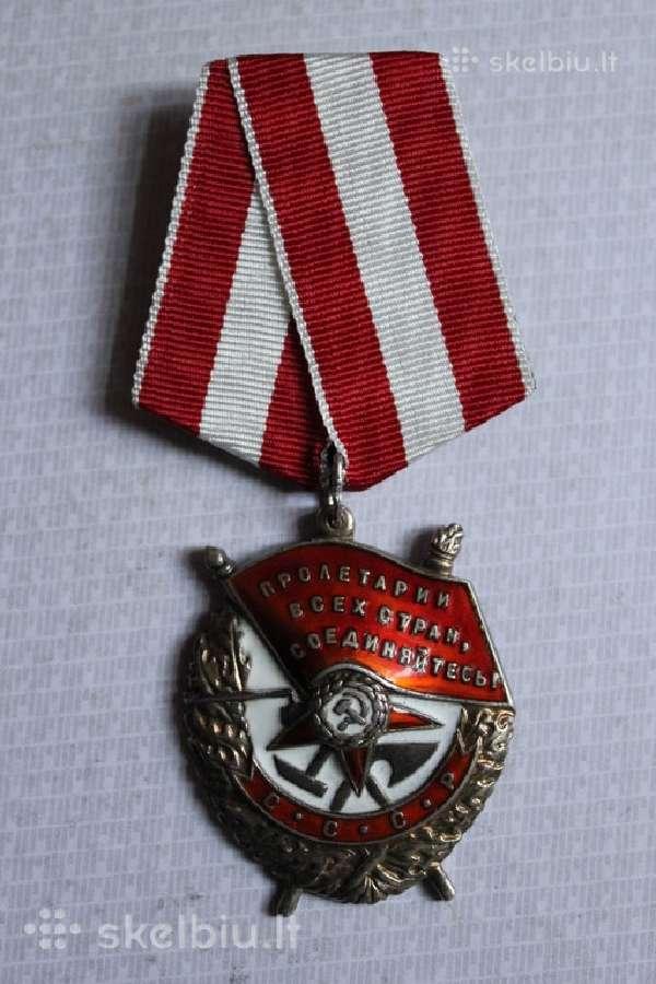Perku ordinus ir medalius!