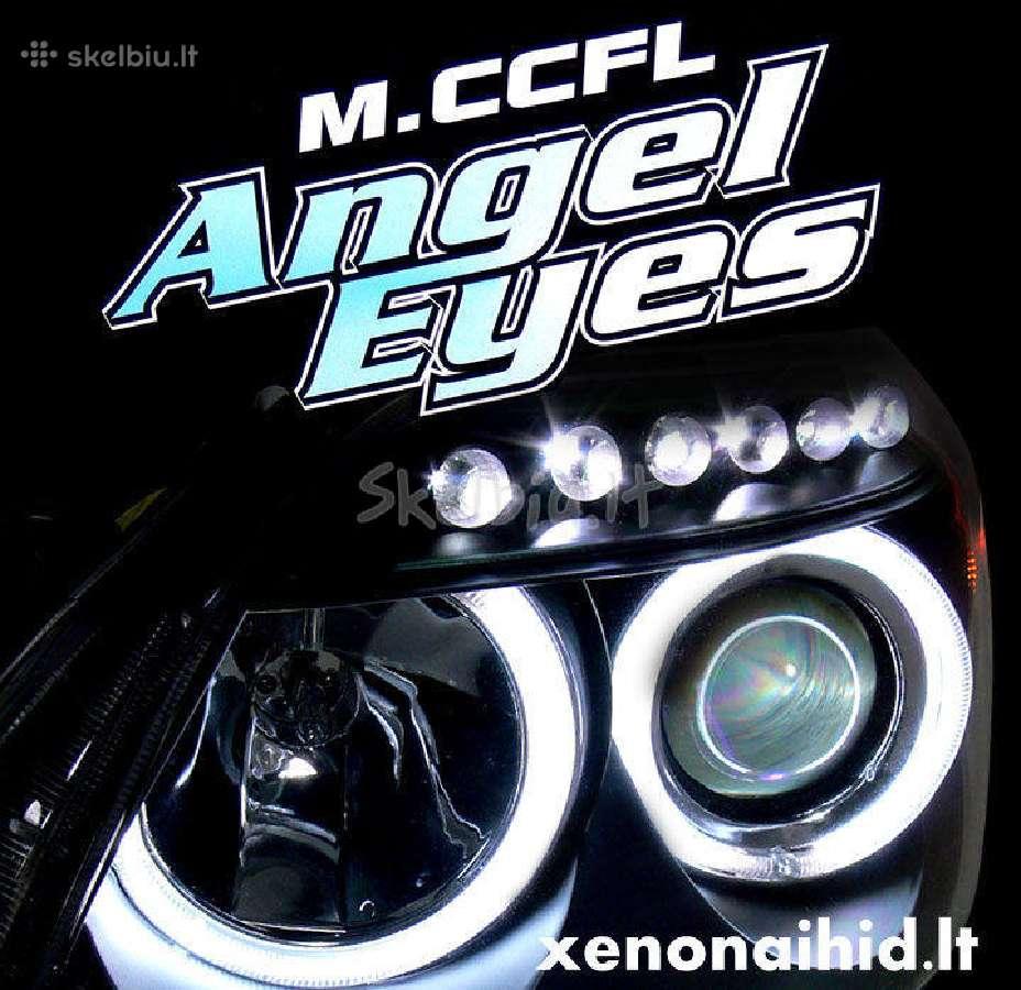 """Akcijos! Bmw """"Angel eyes"""", """"Demon eyes"""" ccfl, led žiedai Led marker canbus"""
