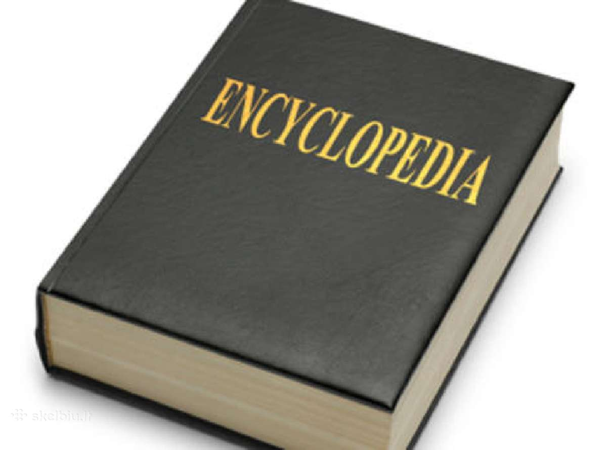 Naudotos enciklopedijos