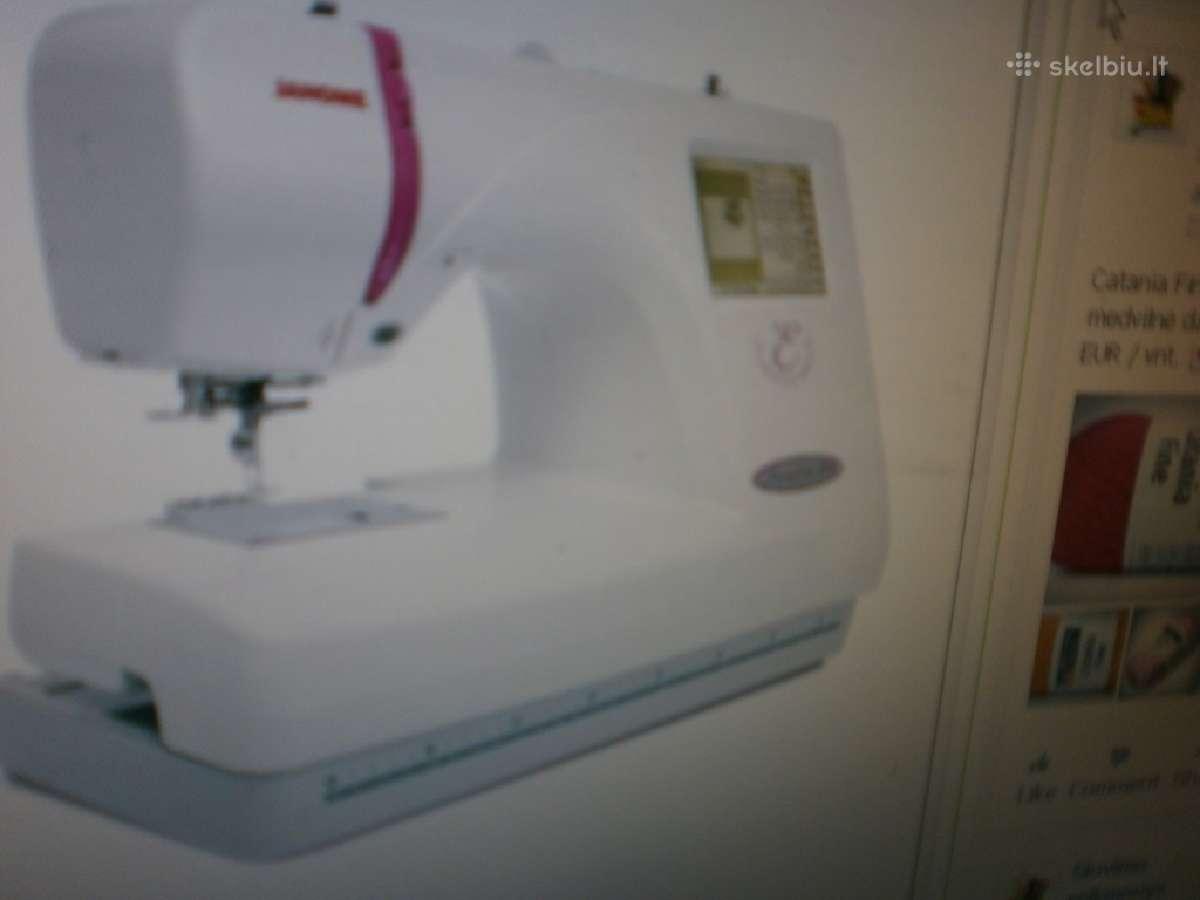 Siuvinėjimo mašina Janome Mc350e 690 eur