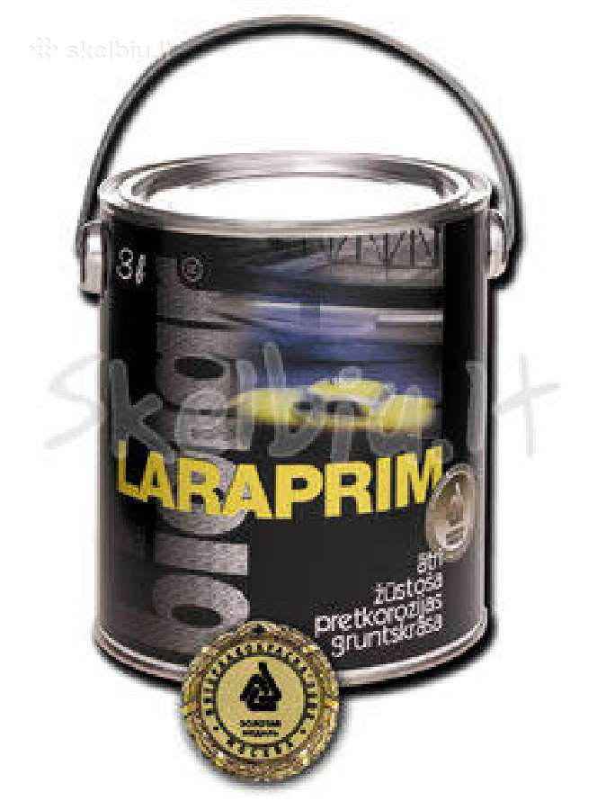 Greitai džiūstantis antikorozinis gruntas Laraprim