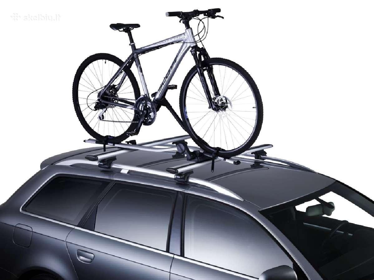 Thule dviračių laikikliai, skersiniai, bagažinės