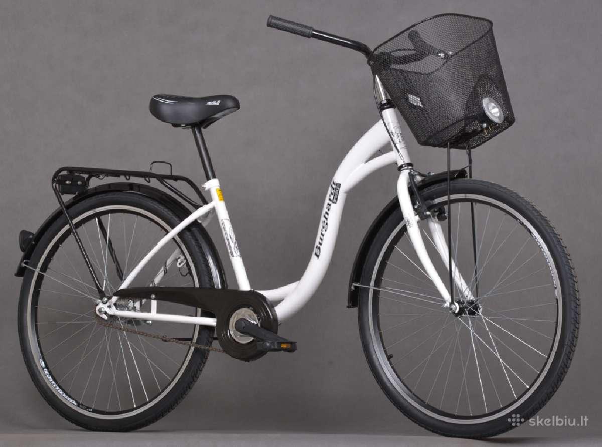 Nauji Moteriški miesto dviračiai
