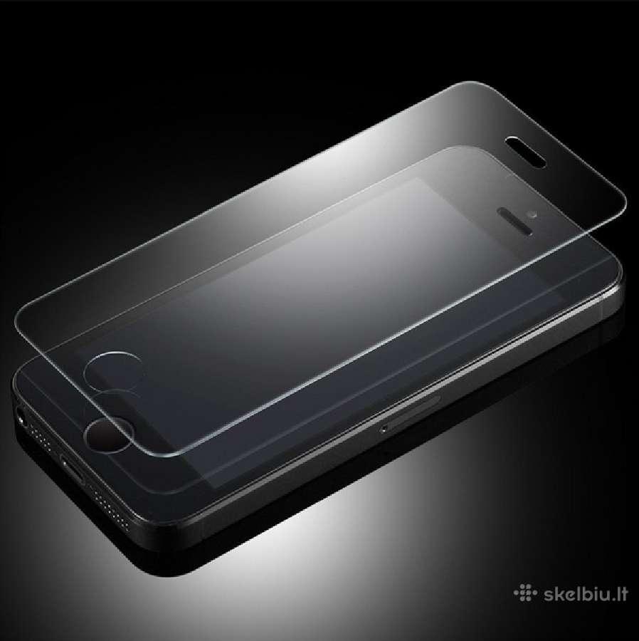 Apple iPhone 4,5,6 apsauginiai ekrano stiklai
