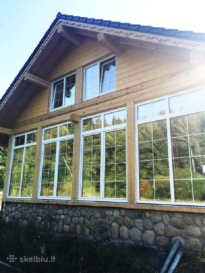**akcija!**kokybiški ilgaamžiai mediniai langai