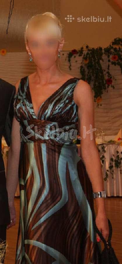 Nuostabi,elegantiska progine suknele