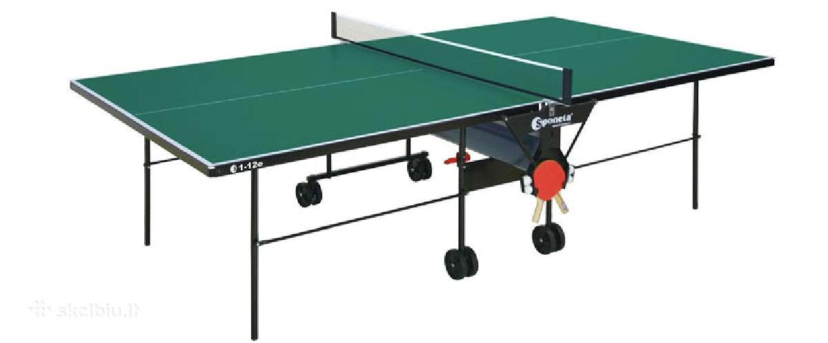 Naujas lauko teniso stalas Sponeta S1-12e pigiai!