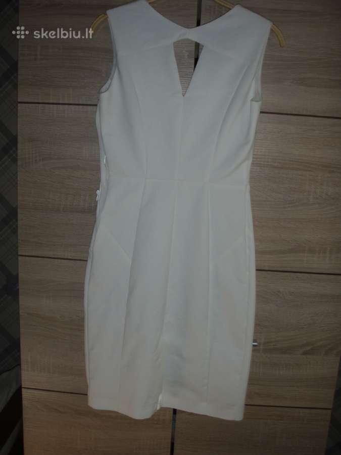 Balta puosni S-m Dydzio suknele