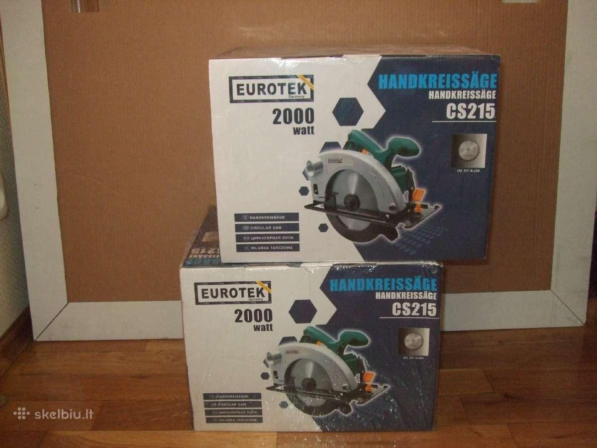 New Diskiniai Pjūklai Eurotek Cs215 – Super kaina