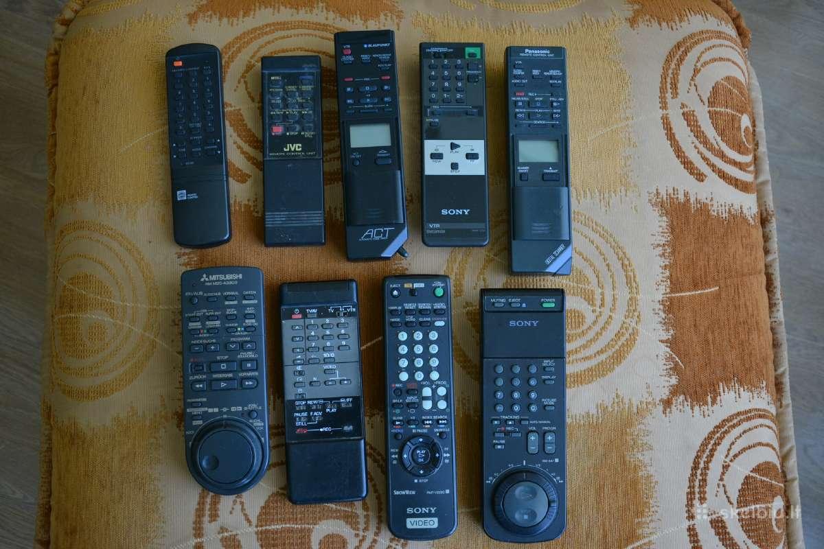 Pulteliai Video magnetofonams Vhs