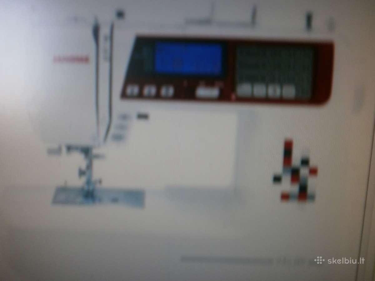 Siuvimo Mašinos Janome 4120q/txl607