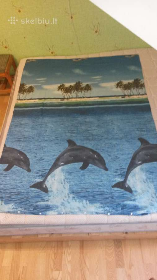 Viengulis užvalkalas patalynei su delfinais -5eur