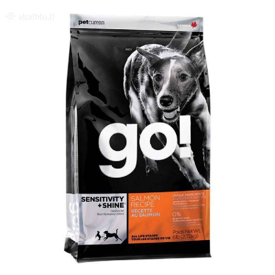 Go! Sensitive + Shine 11,3 kg šunims
