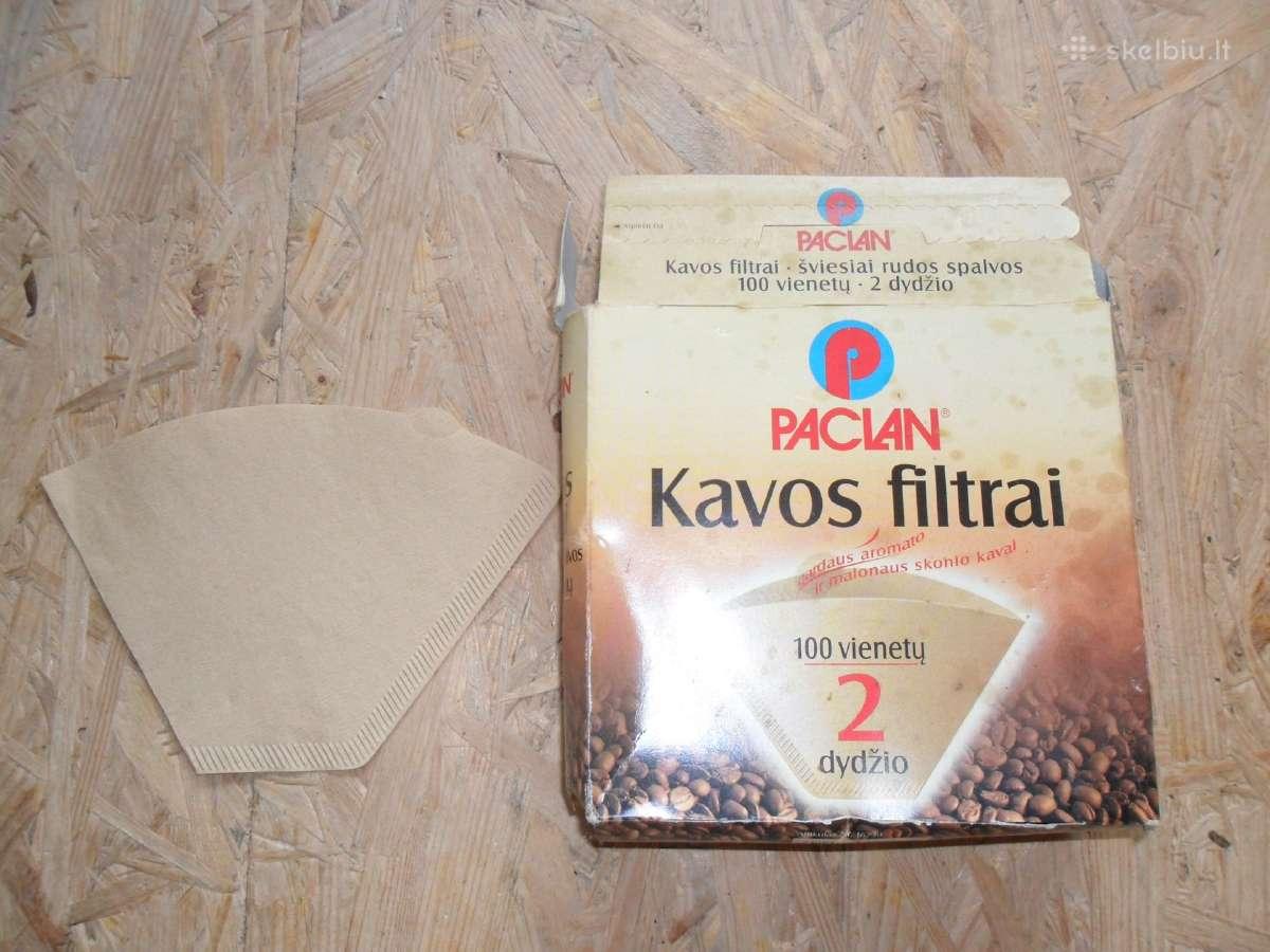 Parduodu kavos filtrus. Kaina: 1eur