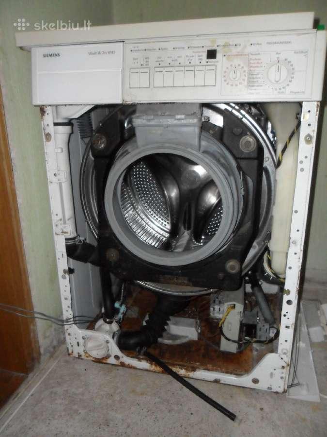 Parduodu Siemens Wash&dry 6143 dalimis