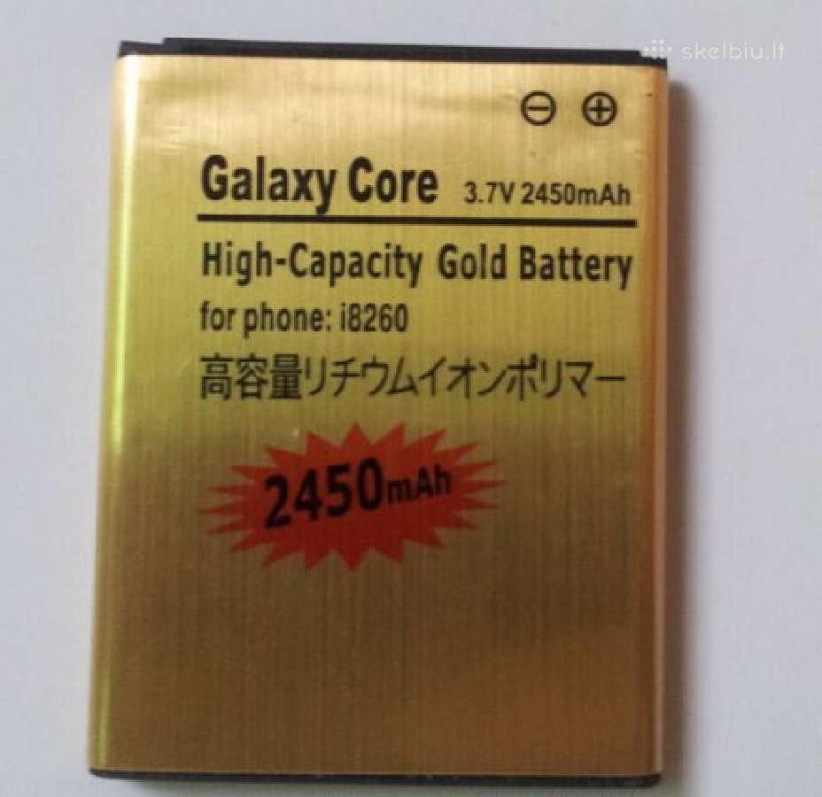 Samsung Galaxy Core padidintos talpos baterija