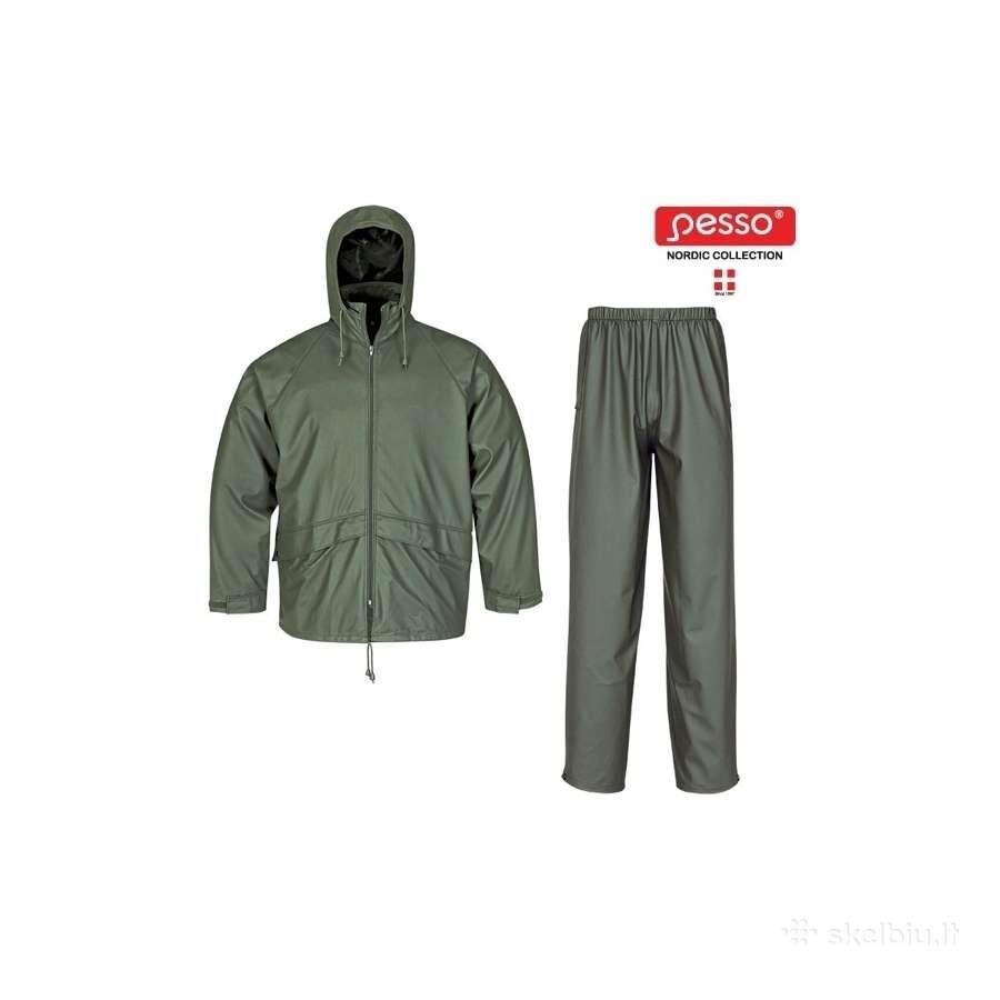 Neperšlampantis kostiumas Pesso 801+802,žalias