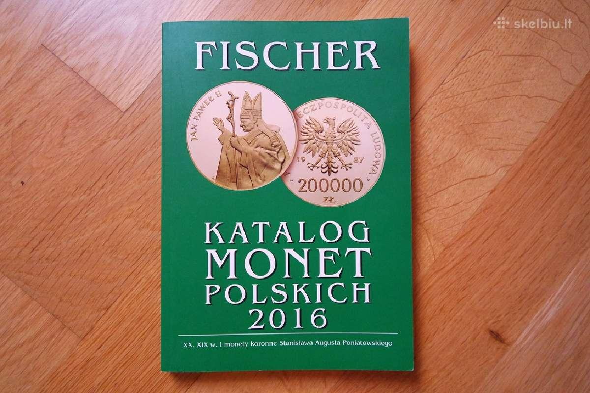 Lenkiskų monetų katalogas 2016m