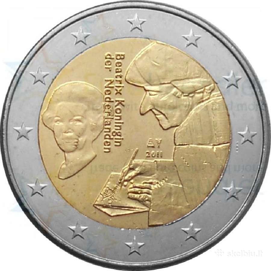 Nyderlandai - Olandija 2 euro monetos Unc
