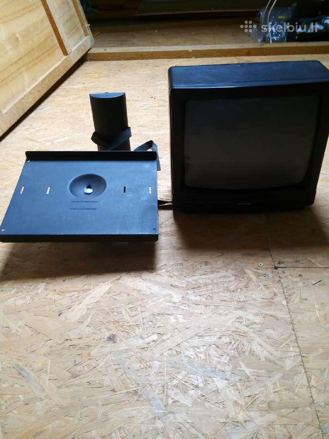 Radiotone televizorius+lentynėlė