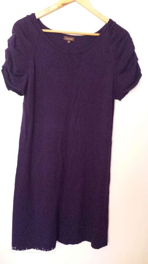 Violetinė suknelė tunika 14 d.