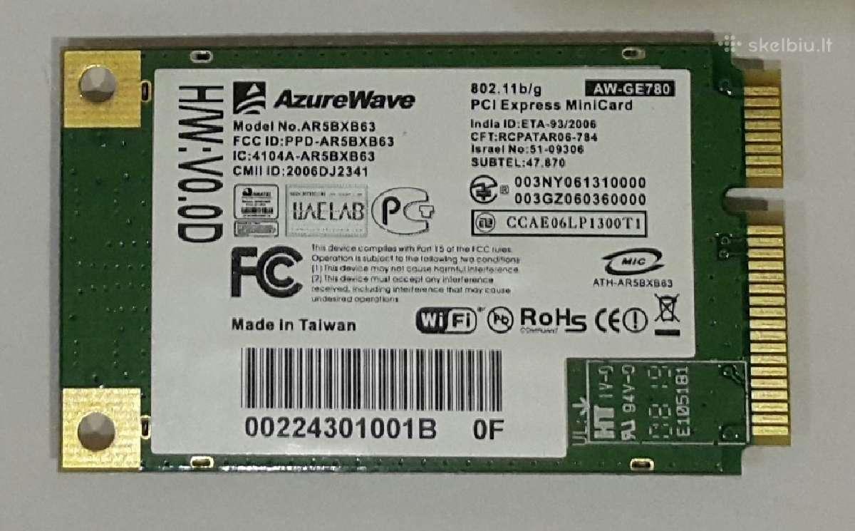 Wi-fi Atheros Ar5bxb63
